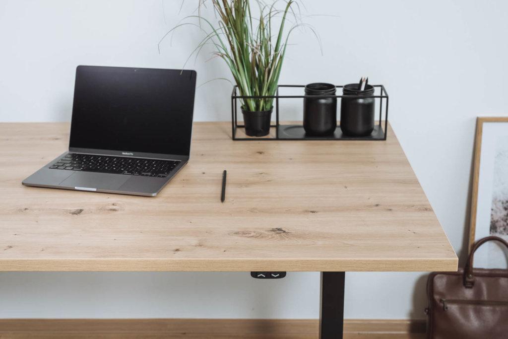 Schreibtischplatte nach Maß - Optik: Atram Eiche