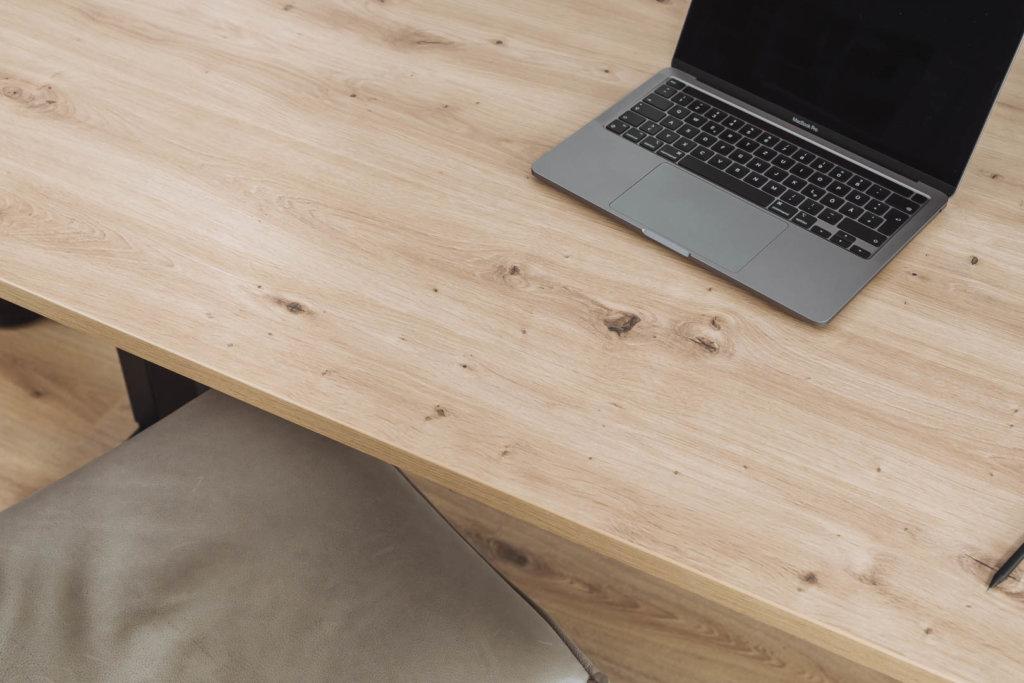 Schreibtischplatte nach Maß - Eichendekor